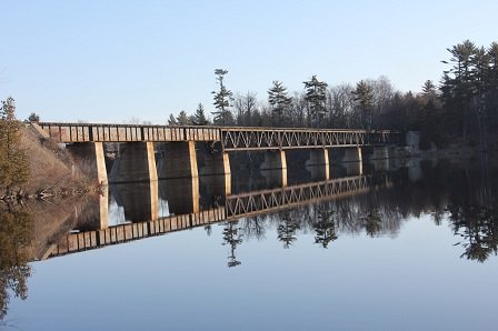 Escanaba River Bridge; Wells, Michigan