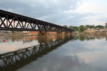 Rock River Bridge; Rockford, Illinois