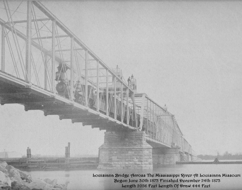 Louisiana Rail Bridge
