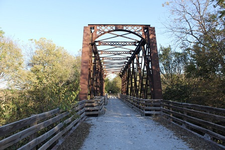 Saltillo Trail Bridge; Saltillo, Nebraska