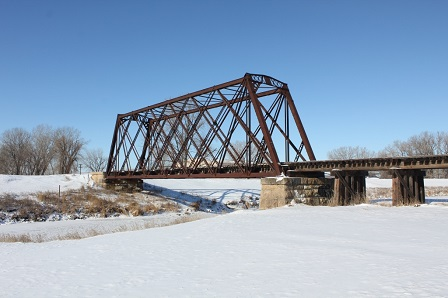 Big Sioux River Bridge; Sioux Falls, South Dakota