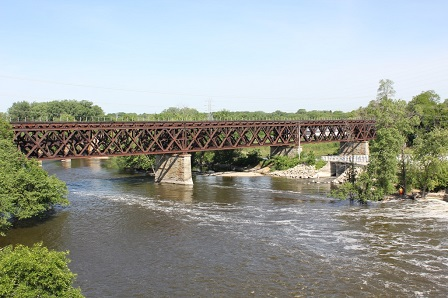 Rock River Bridge; Janesville, Wisconsin