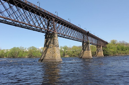 Northwestern Bridge; Eau Claire, Wisconsin